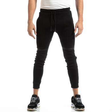 Jogger negru pentru bărbați it261018-38 3