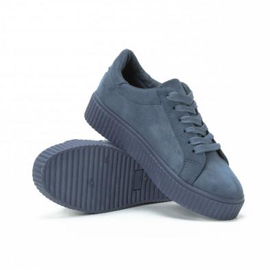 Teniși Basic în albastru pentru dama  it150818-40 4