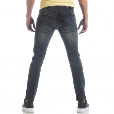 Blugi de bărbați gri model clasic it040219-15 3