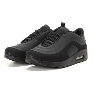 Adidași negri cu perna de aer pentru bărbați it221018-29 3