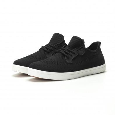 Pantofi sport ușori în negru pentru bărbați it250119-14 3