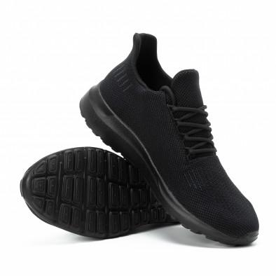 Adidași All black pentru bărbați model ușor it140918-16 4