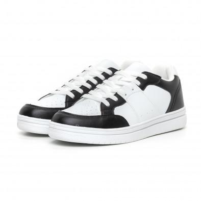 Teniși Skate în alb și negru pentru bărbați it130819-7 3