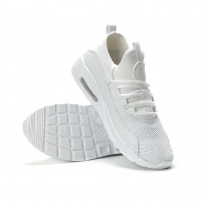 Adidași albi Air de bărbați model ușor it250119-28 4