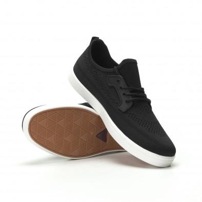 Pantofi sport ușori în negru pentru bărbați it250119-14 4