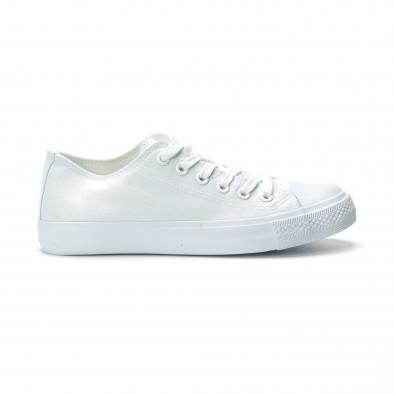 Teniși albi model Basic pentru bărbați it250119-11 2