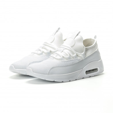 Adidași albi Air de bărbați model ușor it250119-28 3