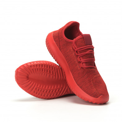 Adidași pentru bărbați All red model ușor it250119-20 4