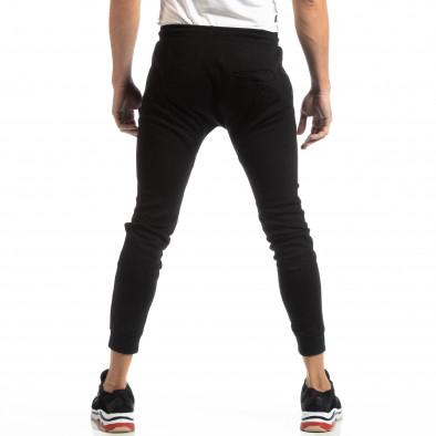Jogger negru pentru bărbați it261018-38 4