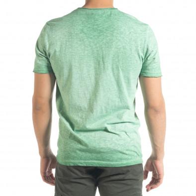 Tricou bărbați Ficko verde it240420-5 3