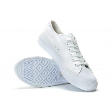 Teniși albi model Basic pentru bărbați it250119-11 4