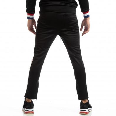 Pantaloni sport pentru bărbați Paris în negru it261018-62 4