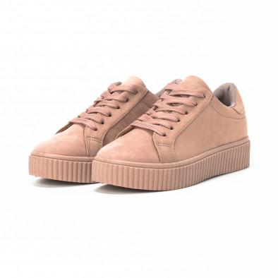 Teniși Basic în roz pentru dama  it150818-39 3