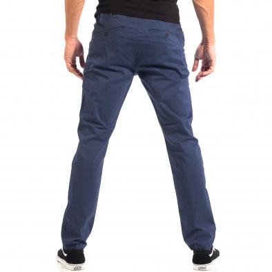 Pantaloni albaștri Chino pentru bărbați CROPP lp060818-100 3