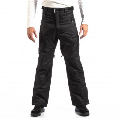 Pantaloni de schi pentru bărbați House în negru cu 5 buzunare lp290918-139 2