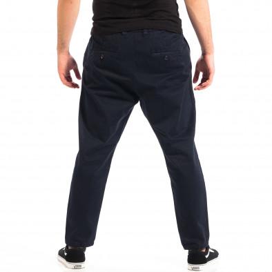 Pantaloni Cropped albaștri pentru bărbați RESERVED  lp060818-87 3