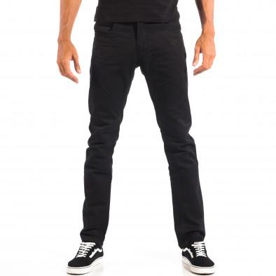 Pantaloni bărbați House negri lp060818-144 2