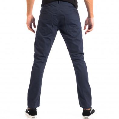 Pantaloni subțiri în albastru pentru bărbați CROPP lp060818-108 3