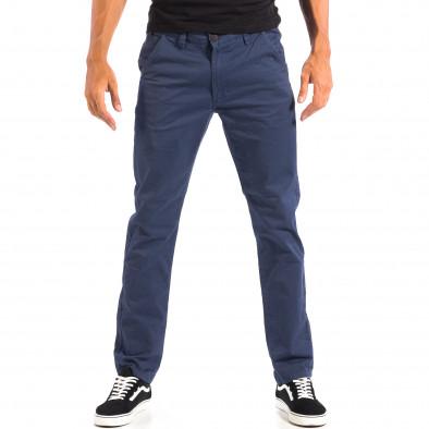 Pantaloni albaștri Chino pentru bărbați CROPP lp060818-100 2