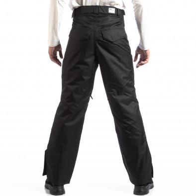 Pantaloni de schi pentru bărbați House în negru cu 5 buzunare lp290918-139 3