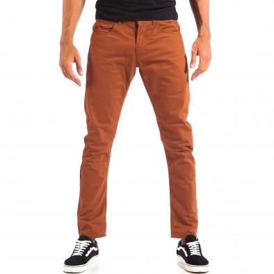 Pantaloni subțiri în camel pentru bărbați CROPP  lp060818-109 2