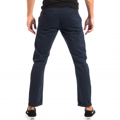 Pantaloni albaștri Chino pentru bărbați CROPP lp060818-113 3