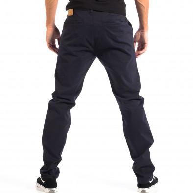 Pantaloni albaștri Chino pentru bărbați House lp060818-95 3