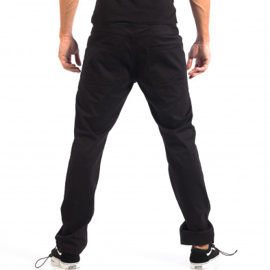 Pantaloni bărbați CROPP negri lp060818-93 3