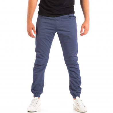 Pantaloni bărbați CROPP albaștri lp060818-136 2