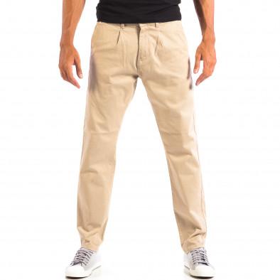 Pantaloni bărbați RESERVED bej lp060818-103 2