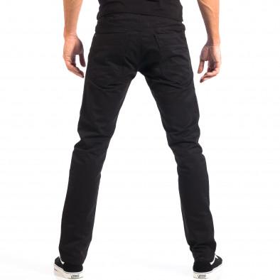 Pantaloni bărbați House negri lp060818-144 3