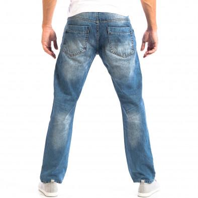 Blugi albaștri pentru bărbați House în stil retro lp060818-29 3