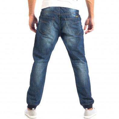 Blugi House Jogger albaștri pentru bărbați  lp060818-35 3