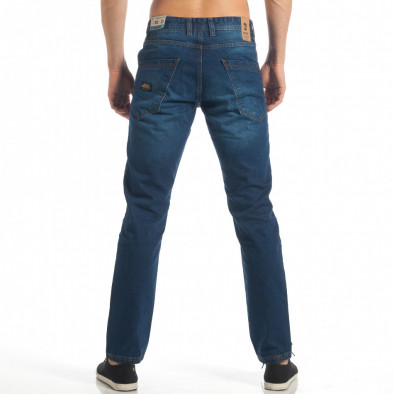 Blugi Straight fit albaștri pentru bărbați CROPP  lp060818-33 3