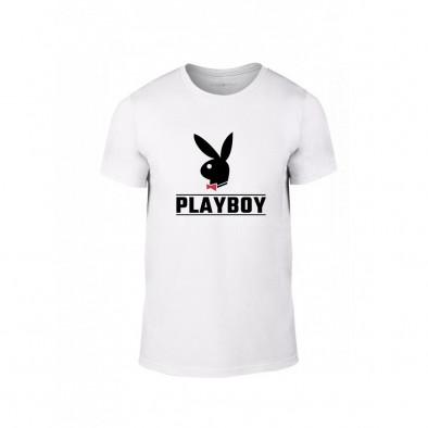Tricou pentru barbati Playboy alb, mărimea XL TMNLPM250XL 2