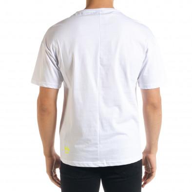 Tricou bărbați Breezy alb tr080520-6 3