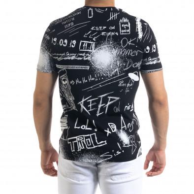 Tricou bărbați Breezy negru tr110320-50 3