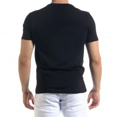 Tricou bărbați Breezy negru tr110320-53 3