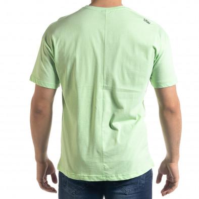 Tricou bărbați SAW verde tr110320-4 3