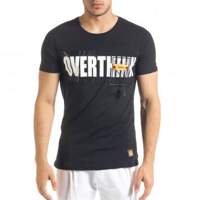 Tricou bărbați Lagos negru tr080520-31 2