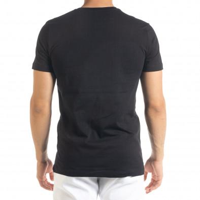 Tricou bărbați Clang negru tr080520-45 3
