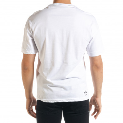 Tricou bărbați Breezy alb tr080520-10 3