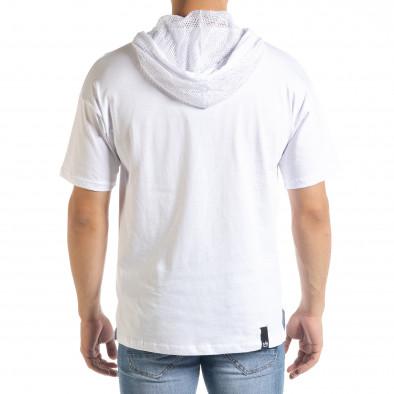 Tricou bărbați Breezy alb tr080520-12 3
