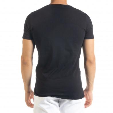 Tricou bărbați Lagos negru tr080520-31 3