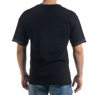 Tricou bărbați Breezy negru tr110320-38 3