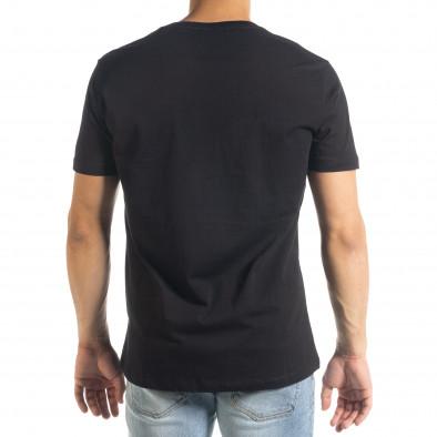 Tricou bărbați Freefly negru tr240420-9 3