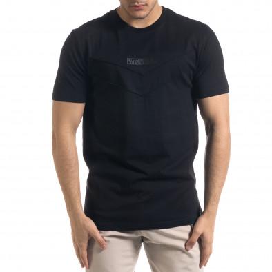 Tricou bărbați Vae Victis negru tr110320-76 2