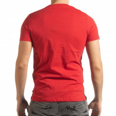 Tricou pentru bărbați New York în negru-roșu tsf190219-51 3