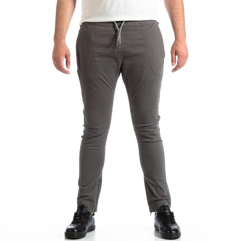 Pantaloni bărbați CROPP gri lp290918-158