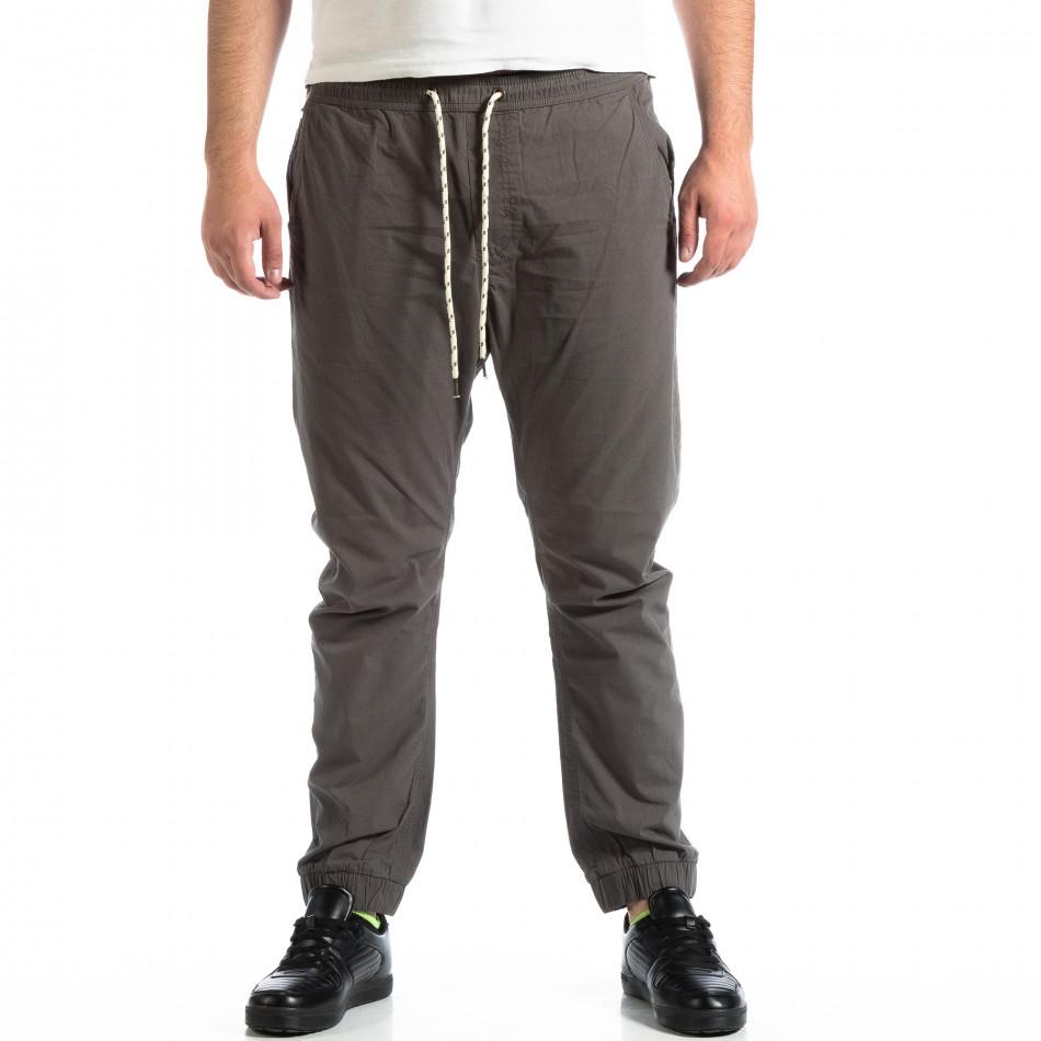 Pantaloni bărbați RESERVED gri lp290918-160